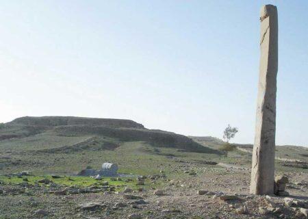 معبد بردنشانده/برجای مانده از تمدن هخامنشیان
