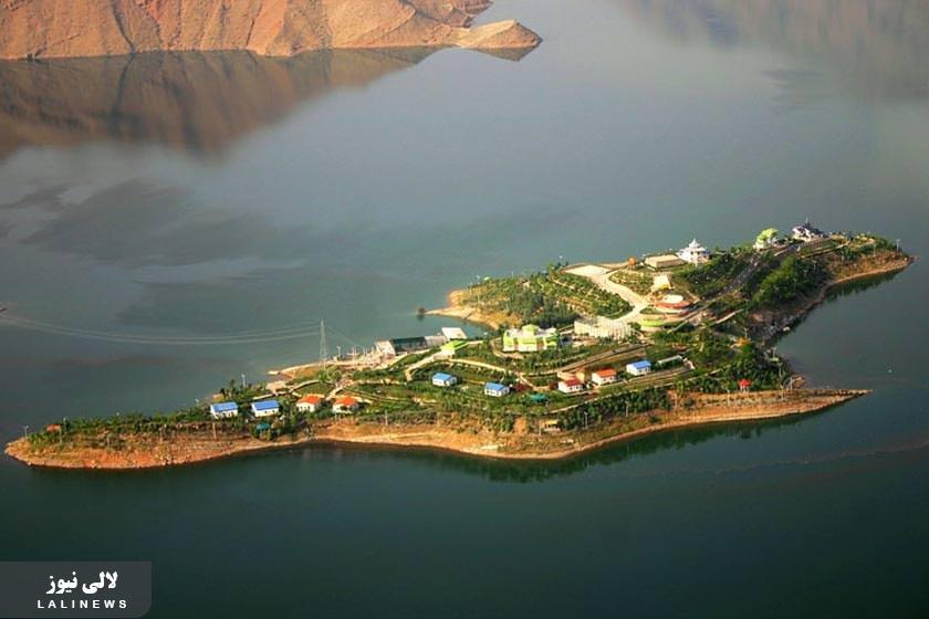 جزیره زیبای کِوِشک در اندیکا