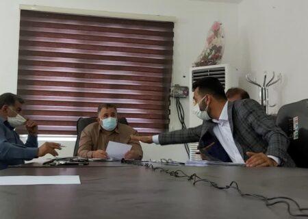 برگزاری جلسه سوال از شهردار لالی / نمایشی متفاوت از شورا در انتقاد از شهردار + عکس