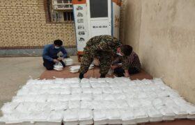 تهیه غذا برای کمک به نیازمندان در لالی