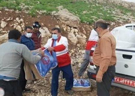 نجات ۴۰ خانواده عشایر بختیاری خوزستان در منطقه برفگیر باغملک + تصاویر
