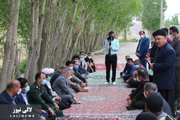 اهداء زمین ارثیه پدری برای ساختن مدرسه در روستای مهدی آباد شهرستان کوهرنگ