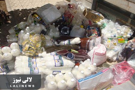 کشف ۱۱۰ کیلوگرم مواد غذایی تاریخ مصرف گذشته در شهرستان لالی
