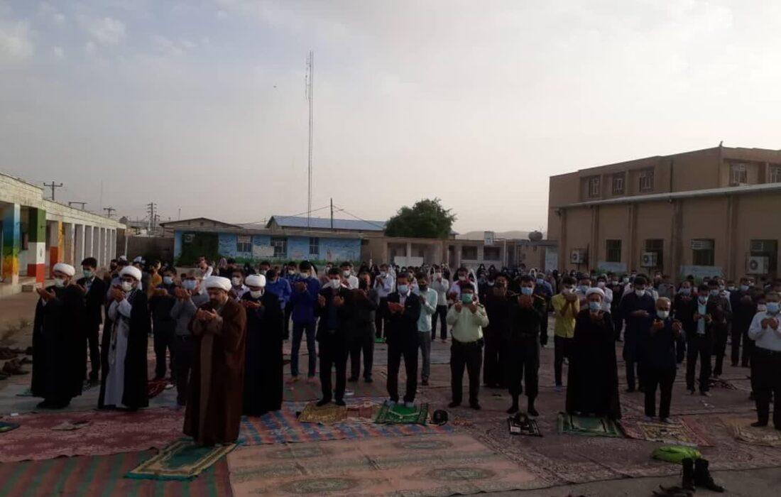 برگزاری نماز عید فطر در لالی