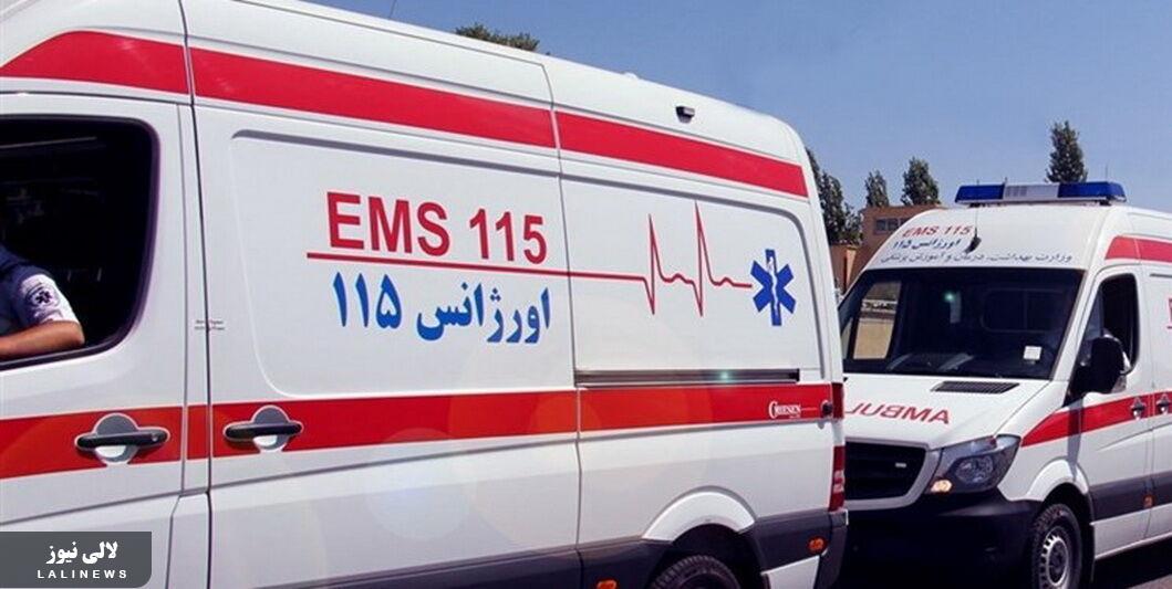 واژگونی خودرو با پنج کشته و دو زخمی در جاده تمبی شهرستان مسجدسلیمان