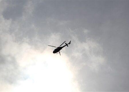 سقوط یک فروند بالگرد اورژانس هوایی در ارتفاعات لالی با یک کشته و دو مصدوم
