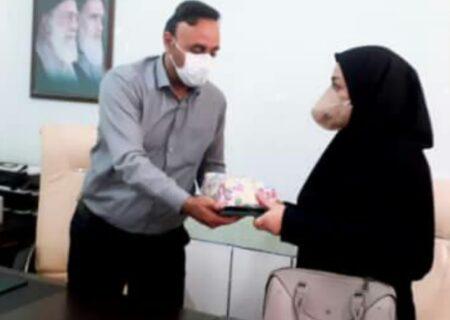 معارفه رئیس جدید مرکز بهداشت شهرستان لالی