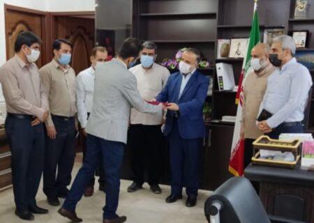 رئیس جدید اداره امور عشایر لالی معارفه و از زحمات مدیر قبلی تقدیر شد + تصاویر