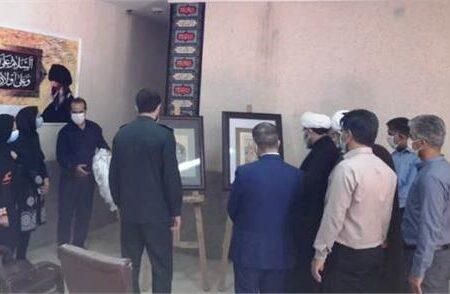 رونمایی از دو اثر هنری نقاشی در محل اداره فرهنگ و ارشاد اسلامی شهرستان لالی