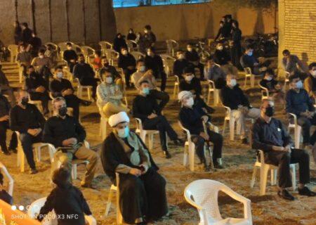 عرض ارادت به سالار شهیدان/عزاداری مردم نقاط مختلف شهرستان لالی به روایت تصاویر