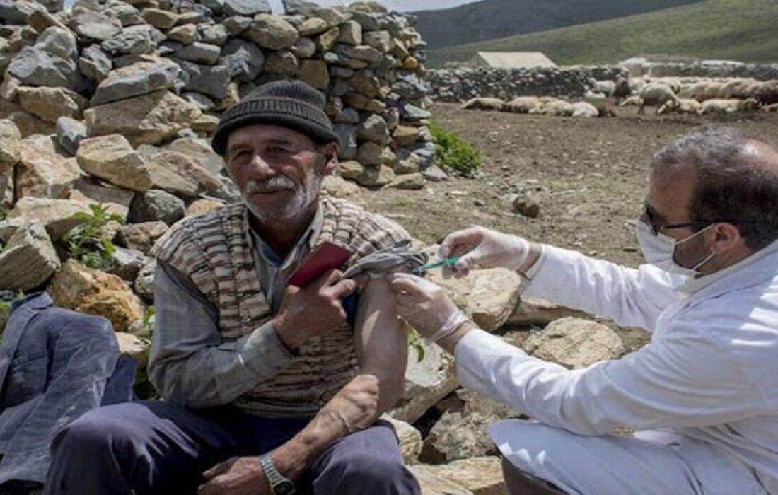 عشایر لالی علیه کرونا واکسینه شدند / پیمودن مسافت های طولانی برای واکسیناسیون