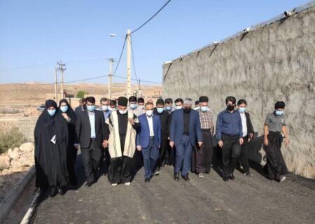 به زودی موضوع تنش آبی و گاز رسانی به روستاهای شهرستان لالی حل خواهد شد + عکس